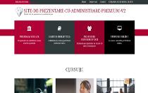 Vezi site de prezentare cu administrare premium v2